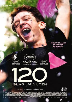 Affisch för 120 Slag I Minuten