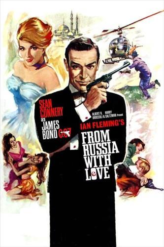 Affisch för Agent 007 Ser Rött