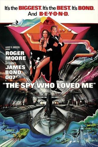 Affisch för Älskade Spion
