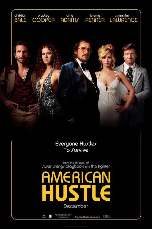 Affisch för American Hustle