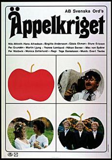 Affisch för Äppelkriget