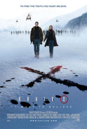 Affisch för Arkiv X: I Want To Believe