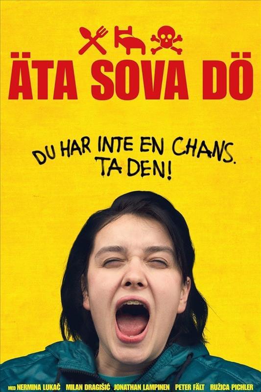 Affisch för Äta Sova Dö