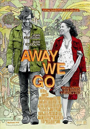 Affisch för Away We Go