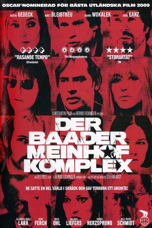 Affisch för Baader-Meinhof Komplex