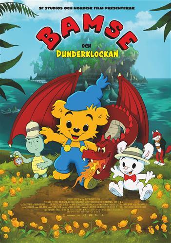 Affisch för Bamse Och Dunderklockan