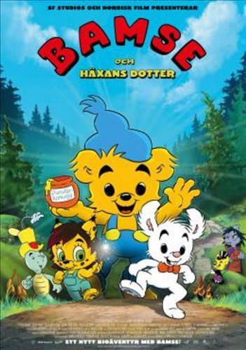 Affisch för Bamse Och Häxans Dotter