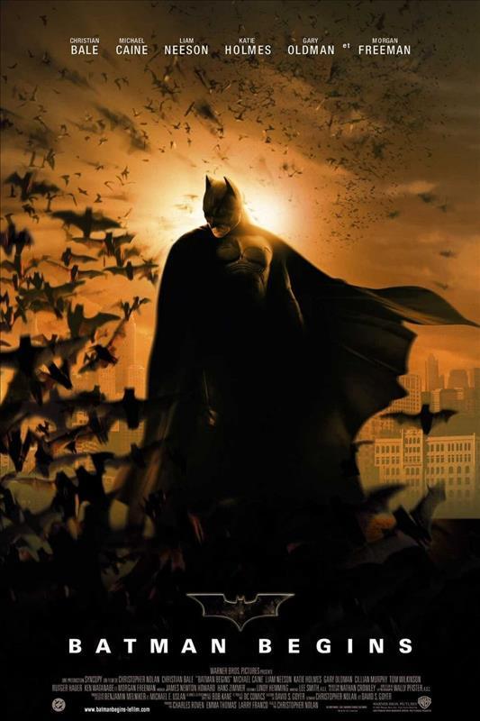 Affisch för Batman Begins