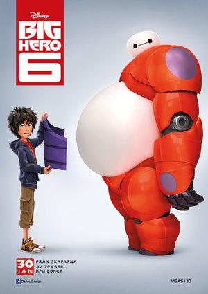 Affisch för Big Hero 6