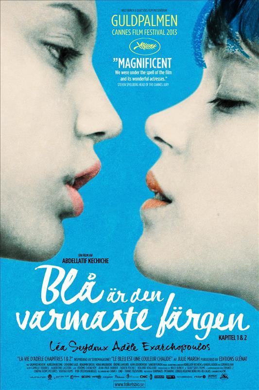Affisch för Blå Är Den Varmaste Färgen
