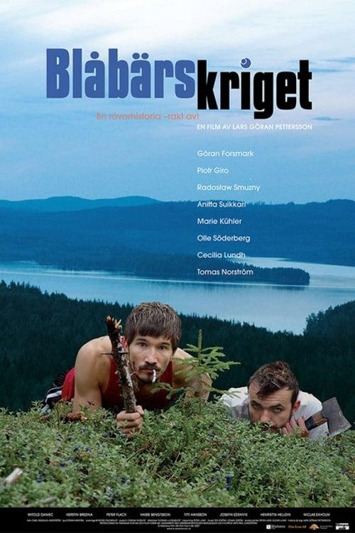 Affisch för Blåbärskriget