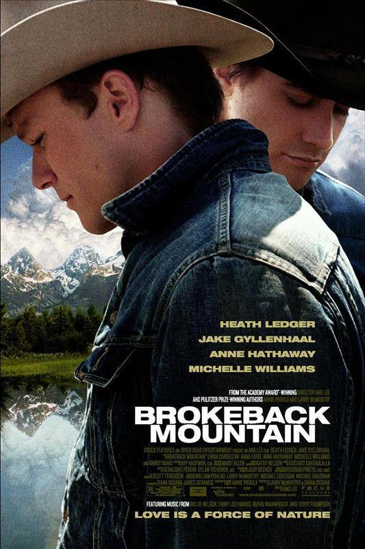 Affisch för Brokeback Mountain