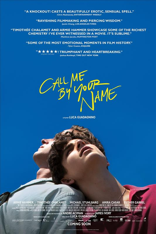 Affisch för Call Me By Your Name