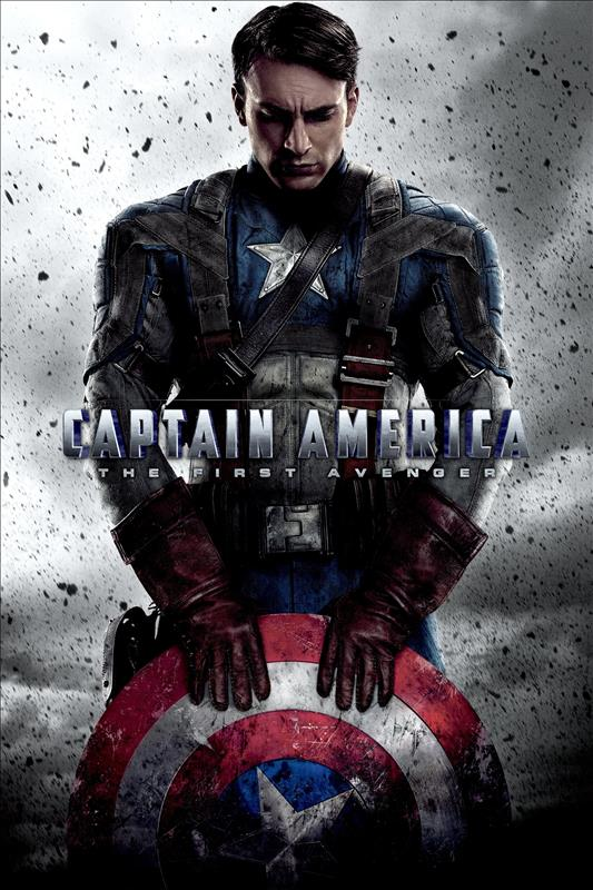 Affisch för Captain America: The First Avenger