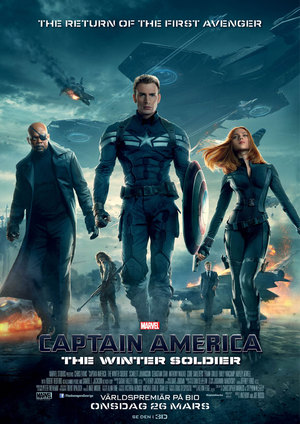Affisch för Captain America: The Return Of The First Avenger
