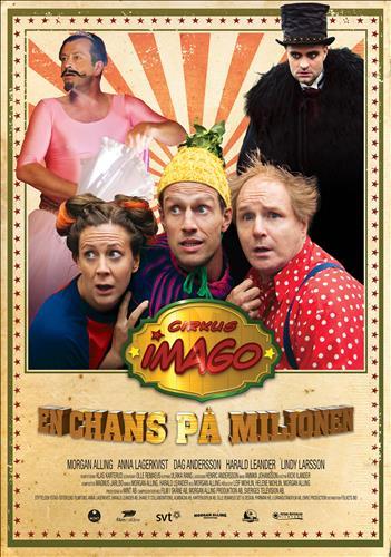 Affisch för Cirkus Imago - En Chans På Miljonen