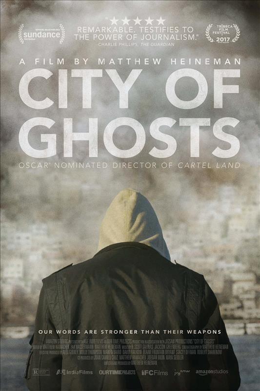 Affisch för City Of Ghosts