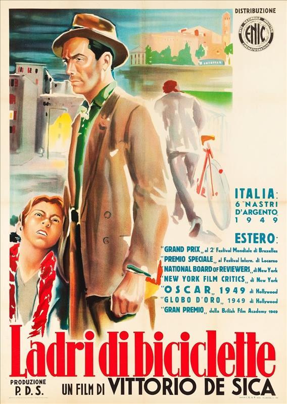 Affisch för Cykeltjuven