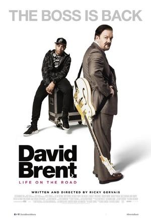 Affisch för David Brent: Life On The Road