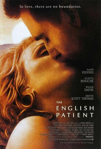 Affisch för Den Engelske Patienten