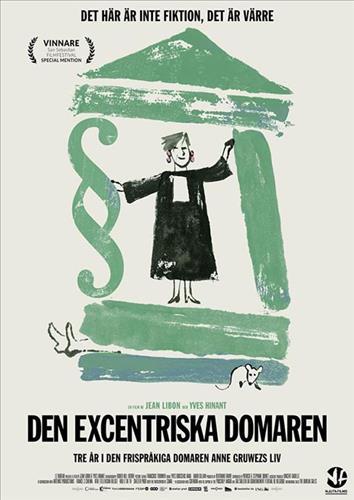 Affisch för Den Excentriska Domaren