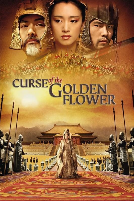 Affisch för Den Gyllene Blommans Förbannelse