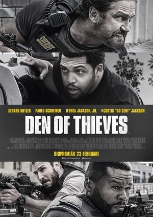 Affisch för Den Of Thieves