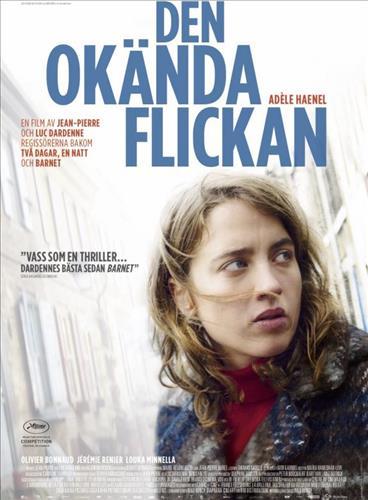 Affisch för Den Okända Flickan