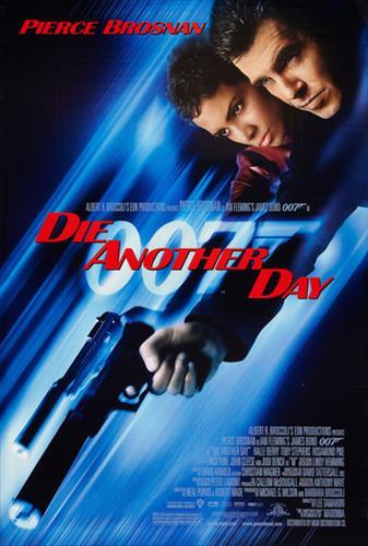 Affisch för Die Another Day