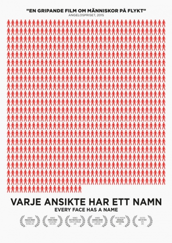 Affisch för Varje Ansikte Har Ett Namn