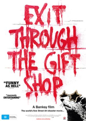 Affisch för Exit Through The Gift Shop