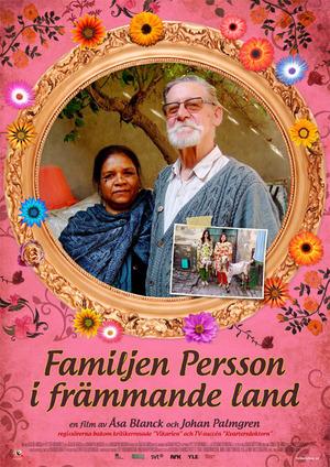 Affisch för Familjen Persson I Främmande Land