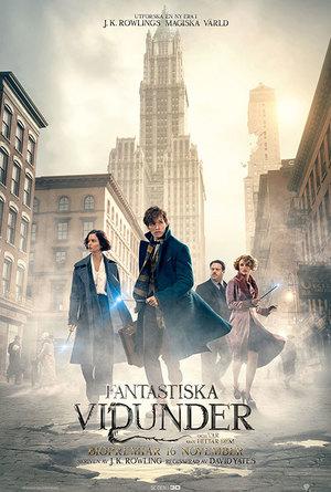 Affisch för Fantastiska Vidunder Och Var Man Hittar Dem