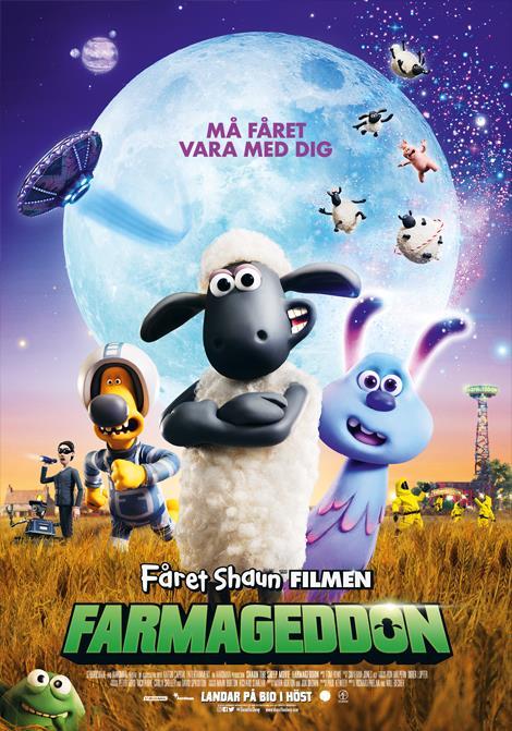 Affisch för Fåret Shaun - Farmageddon