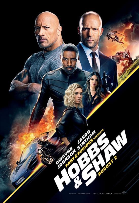 Affisch för Fast & Furious: Hobbs & Shaw