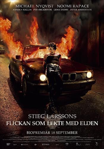 Affisch för Flickan Som Lekte Med Elden