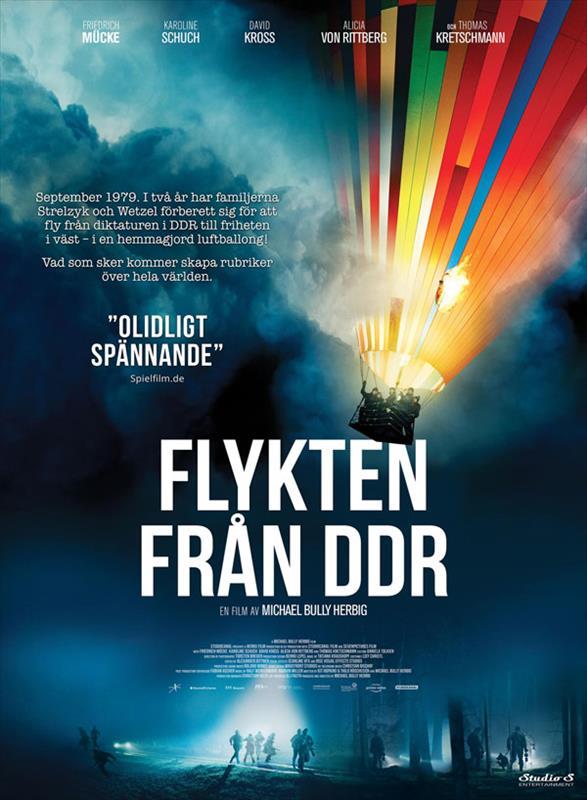 Affisch för Flykten Från DDR