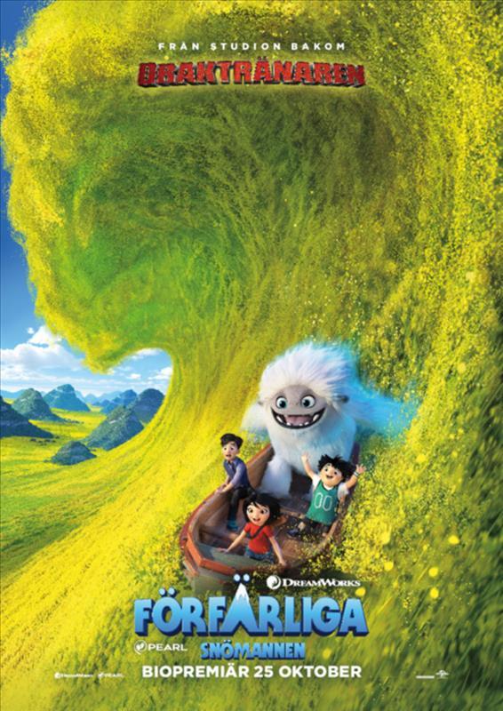 Affisch för Förfärliga Snömannen