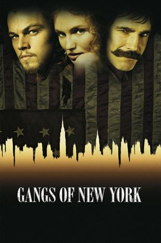 Affisch för Gangs Of New York