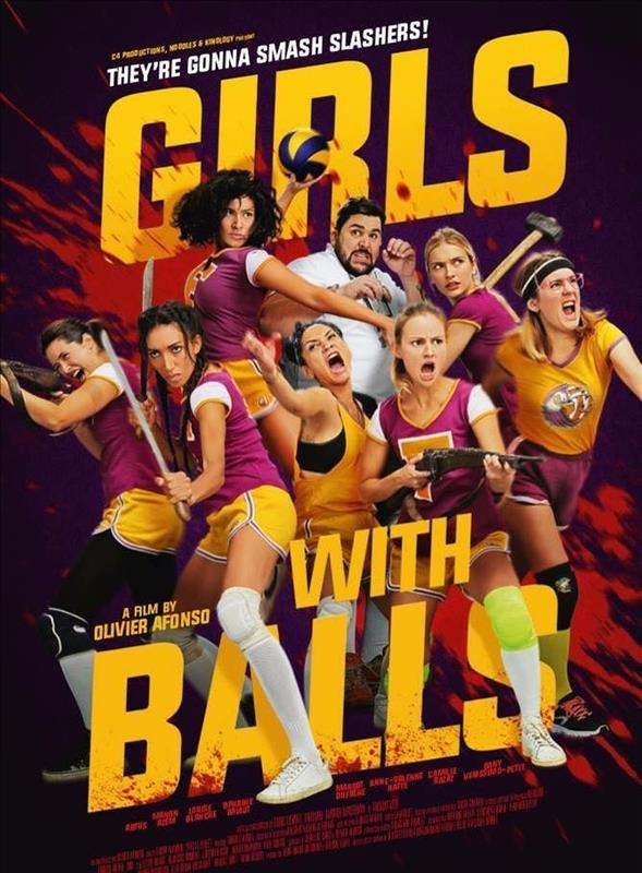 Affisch för Girls With Balls