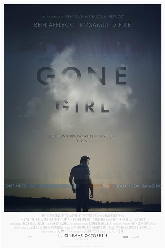 Affisch för Gone Girl
