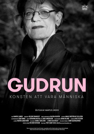 Affisch för Gudrun - Konsten Att Vara Människa