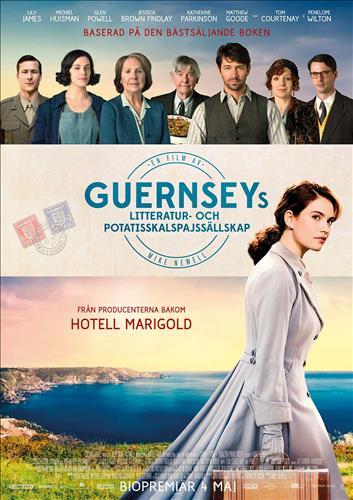 Affisch för Guernseys Litteratur- Och Potatisskalspajssällskap