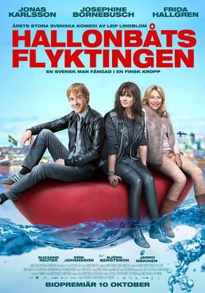 Affisch för Hallonbåtsflyktingen