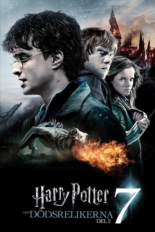 Affisch för Harry Potter Och Dödsrelikerna Del 2