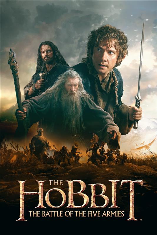 Affisch för Hobbit: Femhäraslaget