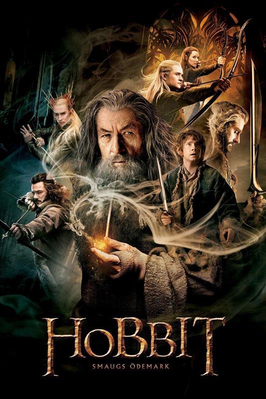 Affisch för Hobbit: Smaugs Ödemark
