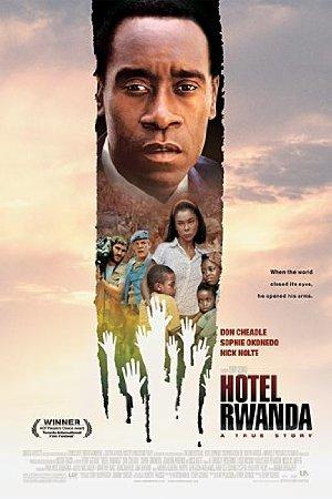 Affisch för Hotel Rwanda