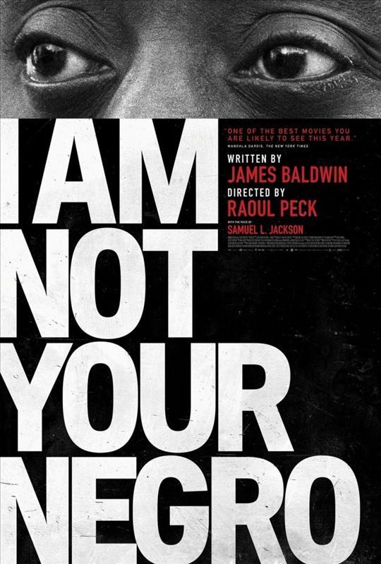 Affisch för I Am Not Your Negro