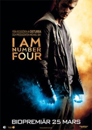 Affisch för I Am Number Four